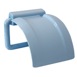 Держатель для туалетной бумаги IDEA, пластиковый, цвет голубой