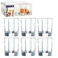 Набор посуды «Octime», стаканы для сока/<wbr/>виски, 6 шт., 300 мл, низкие, стекло, LUMINARC
