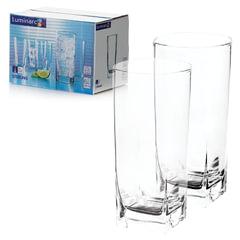 Набор посуды «Sterling», стаканы для сока/<wbr/>виски, 6 шт., 330 мл, высокие, стекло, LUMINARC