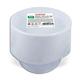 Одноразовые тарелки «Стандарт», суповые 0,6 литра, комплект 50 шт., ЛАЙМА, белые, ПП, для холодного/<wbr/>горячего
