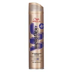 Лак для волос 250 мл, WELLAFLEX (Веллафлекс) «Мгновенный объем», экстрасильная фиксация