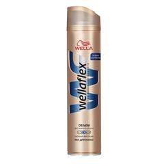 Лак для волос 250 мл, WELLAFLEX (Веллафлекс) «Объем до 2-х дней», сильная фиксация