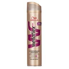 Лак для волос 250 мл, WELLAFLEX (Веллафлекс) «Суперсильная фиксация»