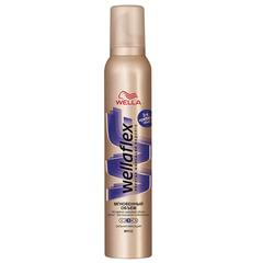 Мусс для волос 200 мл, WELLAFLEX (Веллафлекс) «Мгновенный объем», экстрасильная фиксация