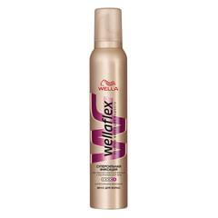 Мусс для волос 200 мл, WELLAFLEX (Веллафлекс) «Суперсильная фиксация»