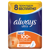 ��������� ������� ������������� ALWAYS (������) «Ultra Normal Plus», 40 ��., �����������������