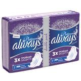 Прокладки женские гигиенические ALWAYS (Олвейс) «Ultra Platinum Night», 14 шт., ароматизированные