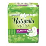Прокладки женские гигиенические NATURELLA (Натурелла) «Ultra Camomile Maxi», 16 шт.