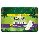 Прокладки женские гигиенические NATURELLA (Натурелла) «Ultra Camomile Night», 28 шт.