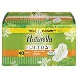 Прокладки женские гигиенические NATURELLA (Натурелла) «Ultra Camomile Normal», 40 шт.