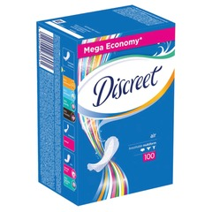 Прокладки женские гигиенические на каждый день DISCREET (Дискрит) «Air», 100 шт.
