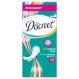 Прокладки женские гигиенические на каждый день DISCREET (Дискрит) «Deo Water Lily», 60 шт.