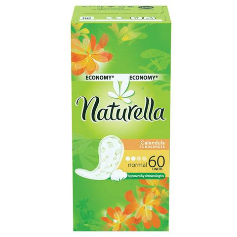 Прокладки женские гигиенические на каждый день NATURELLA (Натурелла) «Calendula Normal», 60 шт.