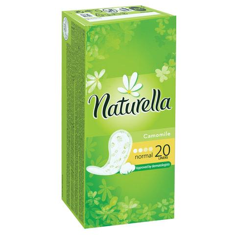 """Прокладки женские гигиенические на каждый день NATURELLA (Натурелла) """"Camomile Normal"""", 20 шт."""