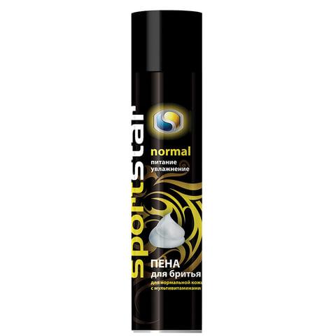 Пена для бритья SPORT STAR, 200 мл, «Normal», для нормальной кожи с мультивитаминами, Россия