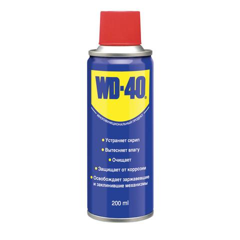 Средство WD-40 универсальное, 200 мл, для тысячи применений в офисе, быту, производстве
