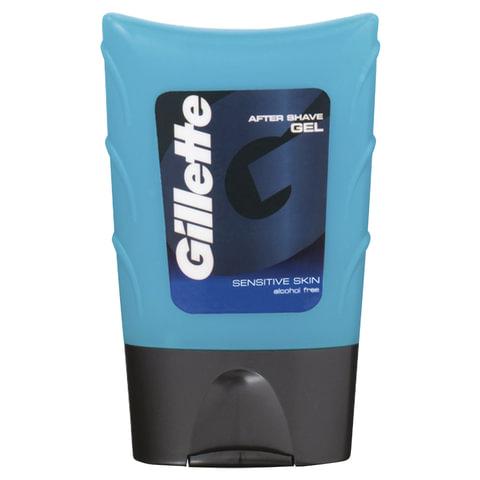 Гель после бритья 75 мл, GILLETTE (Жиллет) «Для чувствительной кожи», для мужчин