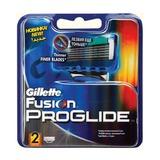 Сменные кассеты для бритья GILLETTE (Жиллет) «Fusion ProGlide», 2 шт., для мужчин