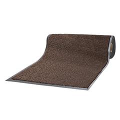 Коврик-дорожка ворсовый влаго-грязезащитный ЛАЙМА, 120×1500 см, толщина 7 мм, коричневый