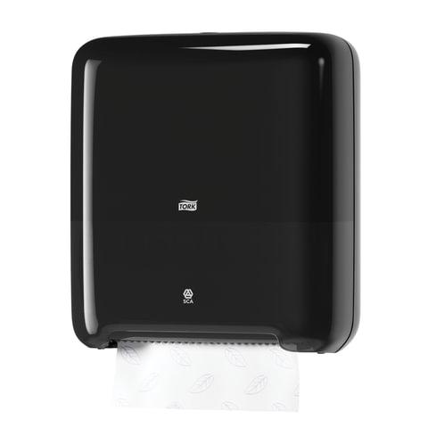 Диспенсер для полотенец в рулонах бесконтактный TORK (Система H1), Matic, черный, 551008