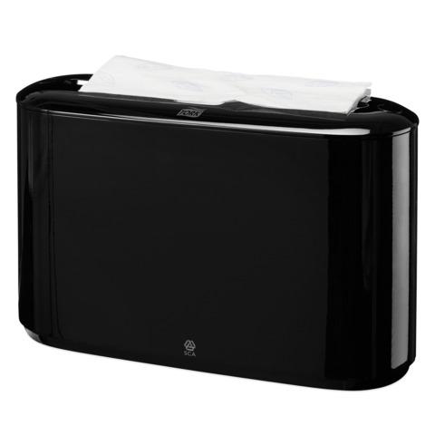 Диспенсер для полотенец TORK (H2) Xpress, Multifold, настольный, черный, полотенца 127830, 124550