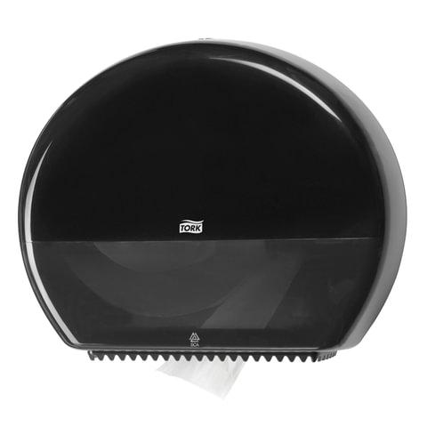 Диспенсер для туалетной бумаги TORK (Система T1) Elevation, черный, бумага 124548, 554008