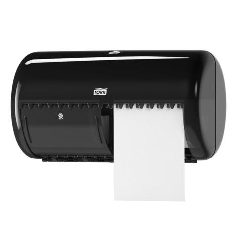 Диспенсер для туалетной бумаги TORK (Система T4) Elevation, черный, бумага 127834-835, 126737, 557008