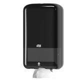 Диспенсер для туалетной бумаги листовой TORK (T3) Elevation, черный, бумага 124549, 126738, 556008
