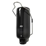 Диспенсер для жидкого мыла TORK (S1) Elevation с локтевым приводом, черный, 1 л, картридж 602955-957, 560108