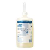 Картридж с жидким мылом одноразовый TORK (S1) Premium, 1 л, антибактериальное, диспенсер 601669, 600293, 420810