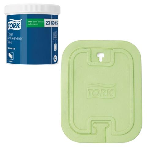 Освежитель воздуха твердый TORK (А2) Premium, комплект 20 шт., цветочный, диспенсер 602974