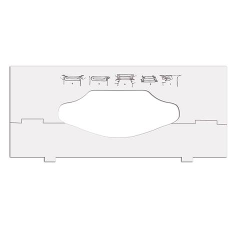 Вставки в диспенсеры для листовых полотенец TORK, для полотенец разной ширины, 202829