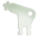 Ключ для электронных диспенсеров TORK Wave, металлический