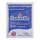 Салфетка антисептическая SANITELLE (Санитель), 200 мм х 250 мм, 1 шт., спиртовая, в индивидуальной упаковке