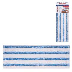 Насадка МОП для швабры ЛАЙМА «Бюджет», карманы, 40×10 см, микрофибра/<wbr/>микроабразив, для сухой и влажной уборки