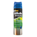Гель для бритья 200 мл, GILLETTE (Жиллет) Mach3, «Для чувствительной кожи»