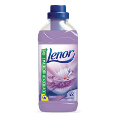 Кондиционер-ополаскиватель для белья 2 л, LENOR (Ленор) «Свежесть лаванды», концентрат