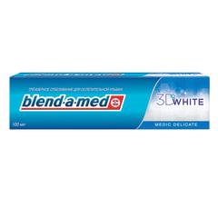 Зубная паста, 100 мл, BLEND-A-MED (Бленд-а-Мед) 3D White «Medic Delicate»