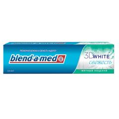 Зубная паста, 100 мл, BLEND-A-MED (Бленд-а-Мед) 3D White «Мятный Поцелуй»