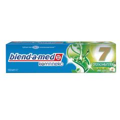 Зубная паста, 100 мл, BLEND-A-MED (Бленд-а-Мед) Complete 7 «Ополаскиватель+Травы»
