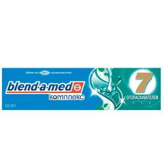 Зубная паста, 100 мл, BLEND-A-MED (Бленд-а-Мед) Complete 7 «С ополаскивателем»