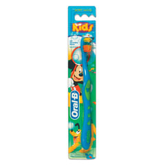 Зубная щетка детская ORAL-B (Орал-Би) Kids, для 5-7 лет, мягкая
