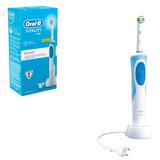 Зубная щетка электрическая ORAL-B (Орал-би) Vitality 3D White D12.513, «Отбеливающая», картонная упаковка