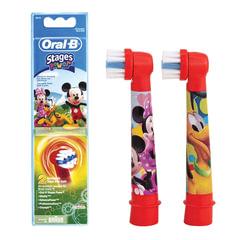 Насадки для электрической зубной щетки ORAL-B (Орал-би) Kids Stages Power EB10, КОМПЛЕКТ 2 шт