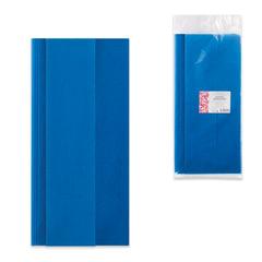 Скатерть одноразовая из нетканого материала спанбонд, 140×110 см, ИНТРОПЛАСТИКА, синяя