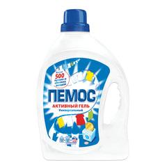 Стиральный порошок жидкий, универсальный 2,2 л, ПЕМОС «Активный Гель»