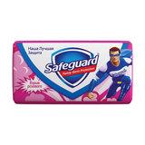 Мыло туалетное антибактериальное, 90 г, SAFEGUARD (Сейфгард), «Взрыв розового»
