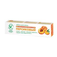 Крем для лица 40 мл, НЕВСКАЯ КОСМЕТИКА «Персиковый», для нормальной и комбинированной кожи, туба