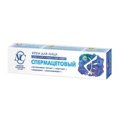 Крем для лица 40 мл, НЕВСКАЯ КОСМЕТИКА «Спермацетовый», для сухой и нормальной кожи, туба