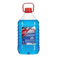 Жидкость незамерзающая 4 л, AUTO EXPRESS, до -25°С, на основе изопропилового спирта (безопасная), ПЭТ